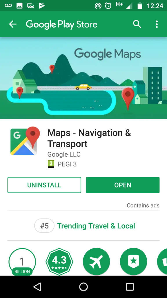 Google Map Android C Map loading issue | Open C Map on